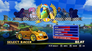 Sonic and Sega All Stars Racing character select 06