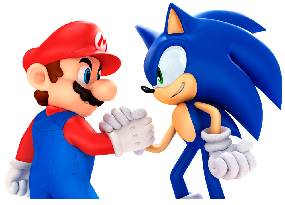 image sonic with mario pose 2 png sonic news network fandom