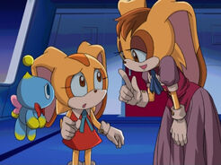 Cream and Vanilla sonic X