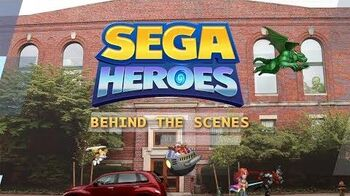 SEGA Heroes Behind the Scenes