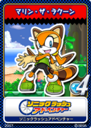 Sonic Rush Adventure 13 Marine the Racoon