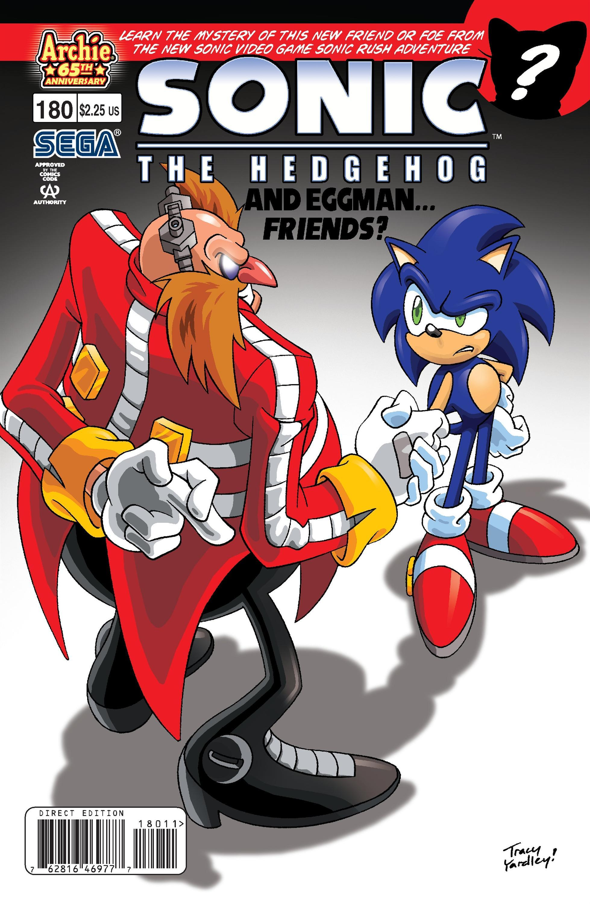 Sonic The Hedgehog 180
