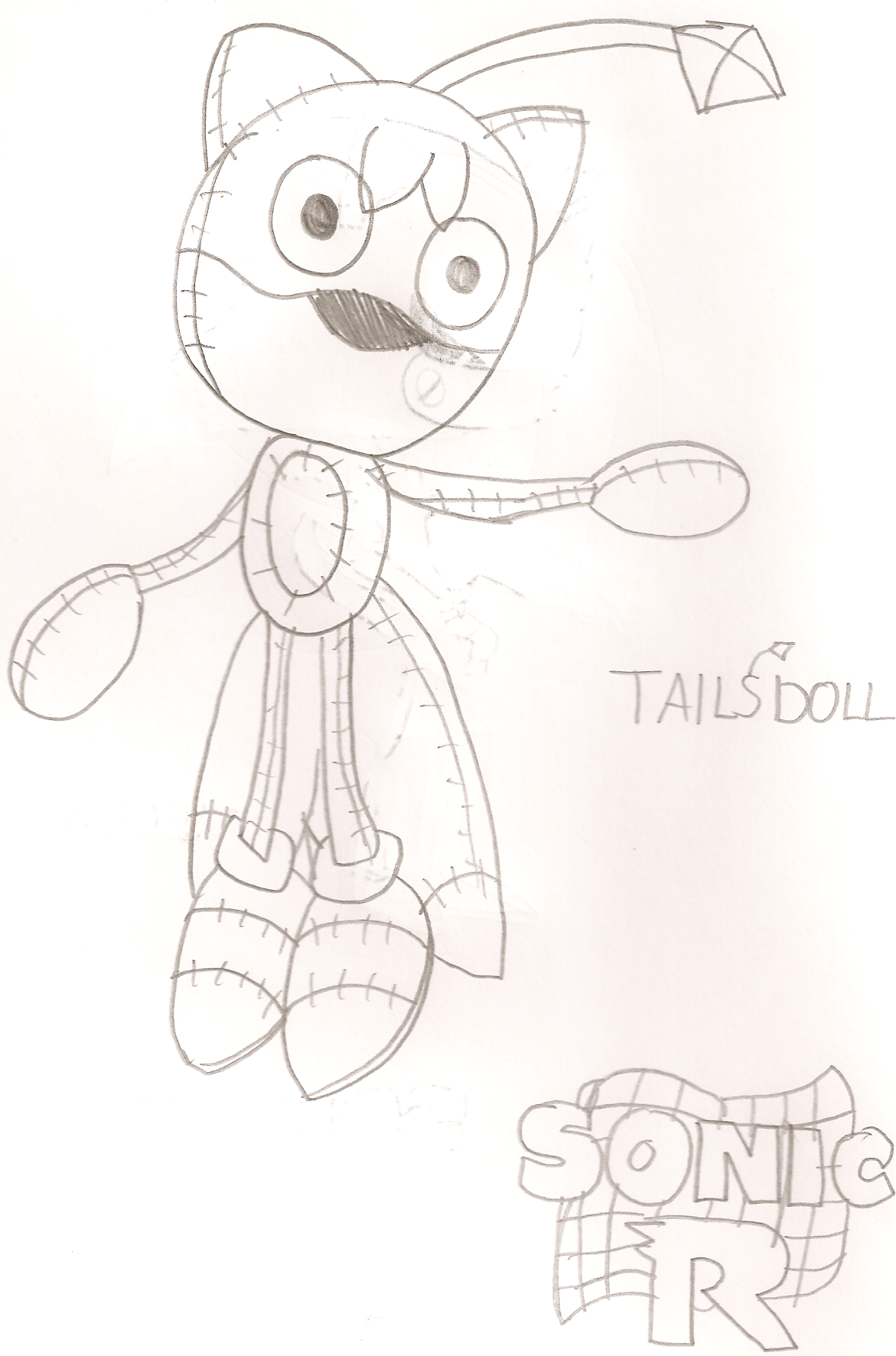 Tails Doll Coloring Pictures | Coloring Page