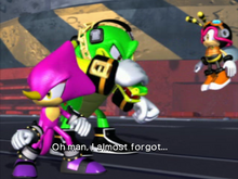 Chaotix Heroes end
