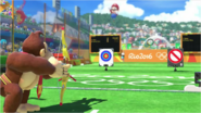Mario & Sonic at the Rio 2016 Olympic Games - Donkey Kong Archery