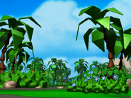 Sonic 3D Saturn background
