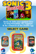 Sonic Classic Collection Menu 4