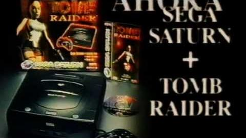Tomb Raider 1 - Sega Saturn Commercial