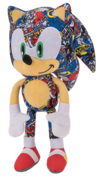 ToyFactory Plush Sonic Sticker Bomb