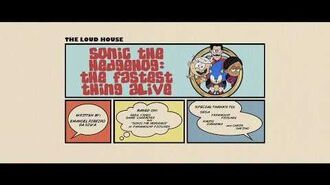 """""""Sonic the Hedgehog The Fastest Thing Alive"""" - Title Card promo (CinemaScope Ver.)"""