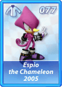Card 077 (Sonic Rivals)
