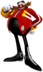Eggman Lost World art