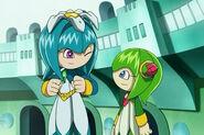 Galaxina y Cosmo