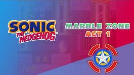 Marble Zone Act 1 - Sonic the Hedgehog 1
