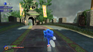 Sonic unleashed xbox 360 video game image 3