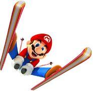 Winter Olympics Mario