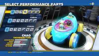 Chao Flash Bonnet Front