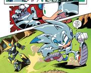 IDW 18 Sonic i Gemerl