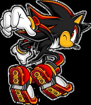 Shadow-Sonic Adventure 2 Battle Signature Render