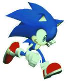 Sonic Running Rush No Black Clear