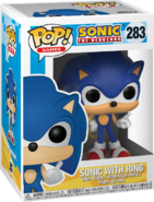 Sonic with Ring box Pop Games