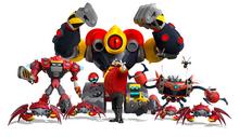 Eggman robots Boom