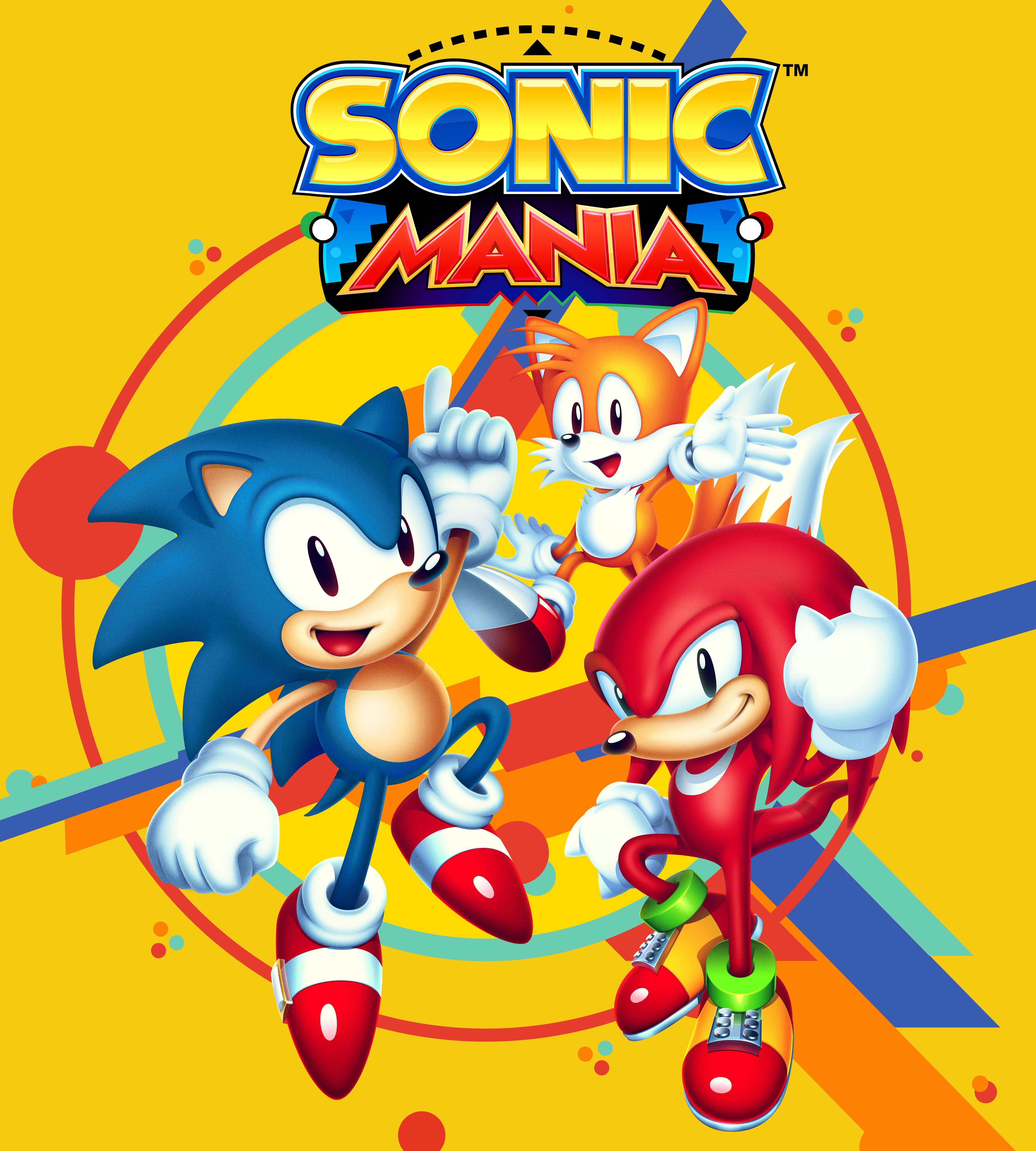 Sonic Forces Mania Infinite Classic Mini Print hedgehog Fan Art Tails Knuckles