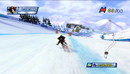 Mario Sonic Olympic Winter Games Gameplay 006