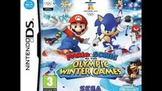 Mario and Sonic at the Olympic Winter Games DS Blizland