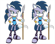 Neo Lupe different hairstyles