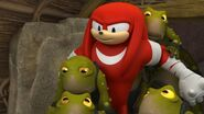 S1E31 Knuckles frogs