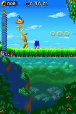 SonicRush Screenshot FlickyNest