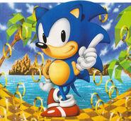 Sonic 8-bit full artwork