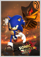 Sonic Forces Japanese Poster