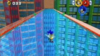 Sonic Heroes - Super Hard Mode - Grand Metropolis