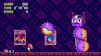 Sonic Mania Boss 15 - Big Caterkiller