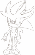 Syber the Hedgehog re-design