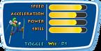 Winter Olympics Wii Stats Luigi