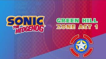 Green Hill Zone Act 1 - Sonic The Hedgehog 1
