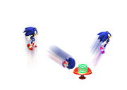Homing Attack Sonic 4