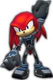 Knuckles Rivals costume 1