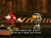Knuckles Vs Storm