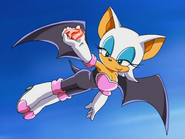 Rouge got a fake Chaos Emerald