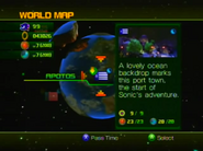 Sonic Unleashed World Map 1