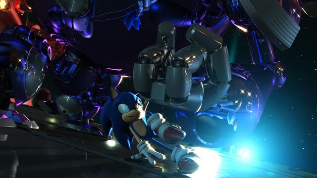 File:Sonic dodging Egg Fighter.jpg