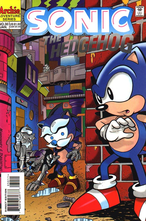 Archie Sonic the Hedgehog Issue 30 | Sonic News Network