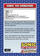 IDWTradingCards - Sonic2