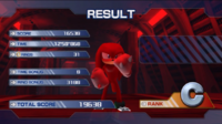 Knuckles' pose in Aquatic Base