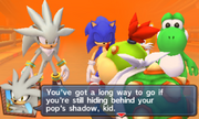 Mario Sonic London 3DS Story Mode 237