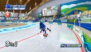 Mario Sonic Olympic Winter Games Gameplay 055